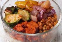 vegitaran dish in the oven