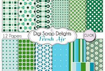 Crafts: Scrapbooking / Scrapbooking ideas, clip art, papers, and more! / by MidwestModernMomma.com