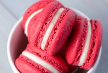 Macarons / Red velvet