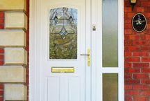 Installations: UPVC Front Doors