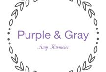 PURPLE AND GRAY COLOR