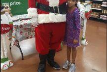 Santa and Serena