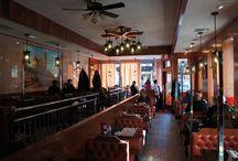 Waverly Restaurant / The Waverly Restaurant is a landmarked diner in New York City's Greenwich Village.