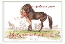 konie rysunki/horse image