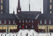 Sean Durkin, Artist / A collection of L.S. Lowry style original paintings by the artist Sean Durkin. Please visit our website www.forestgallery.com for more information and to browse other artworks