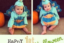 Twin Baby Halloween Costumes! / Halloween costumes for twins!