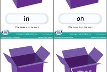 χωρο-χρονικές έννοιες / εκπαιδευτικό υλικό για διδασκαλία χωροχρονικών εννοιών