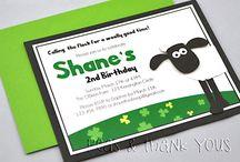 Shaun the sheep birthday