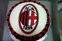 ac milan cake idea