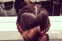 beauty// braided babes / French Braids, Dutch Braids, Rope Braids, Fishtail Braids, Crown Braids, 3 Strand Braids, Multi Braids, Braids on braids on braids! / by Victoria Milne