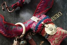 Fabric necklace inspiration