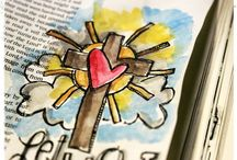 Bible Journaling / by Hayley Tiberghein