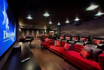 Cinema Room Inspiration / Ever fancied having your own cinema room? Here's some inspiration...