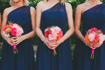 wedding Bridesmaids DRESSES / by Amber Olivier