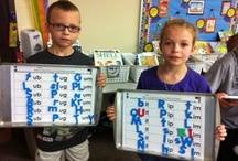 Kindergarten - Word Families / by Kinder Teacher
