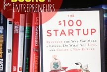 Entrepreneur: Books and Learning / Great book recommendations for books to read to launch a new business, books on entrepreneurship, books on growing your business, etc.