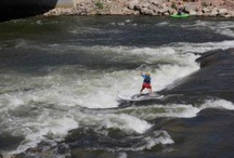 RIVER Stand Up Paddling / Whitewater Stand Up Paddle and SUP in rapids