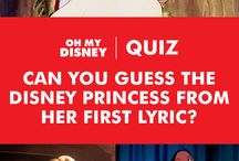 "Disney Quizzes / Your home base for testing your knowledge of Disney trivia, taking Disney personality quizzes, and finding the answers to burning questions like, ""Which Disney Princess are you?"" / by Disney"
