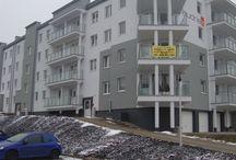 Realizacje budowlane - bloki mieszkalne