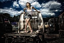 auto stortplaats moodboard