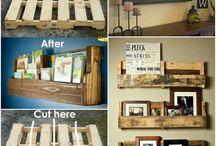 bookcase or shelves