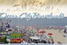 Ocean City MD Boardwalk / Ocean City, Maryland's Boardwalk dates back to 1902 and is recognized as one of the best Boardwalk's in the country. Featuring shops, eateries, amusements, night life and lodging, Ocean City's Boardwalk blends history and culture with modern convenience and fun. www.ocboards.com