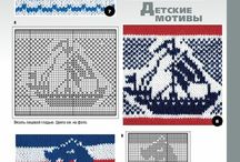 Knit patterns