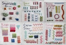 Needle and Thread / Embroidery of all kinds!
