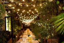 Woodland wedding ideas / Romantic, natural fairytale wedding ideas - Woodland wedding - Midsummer Nights dream inspiration