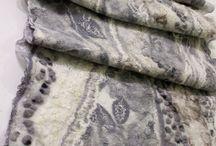 Мои работы / Изделия из нуновойлока (шерсть с натуральным шелком или вискозой). Ручная работа, продаются.