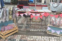 Markets / market stalls, crafts fairs ideas