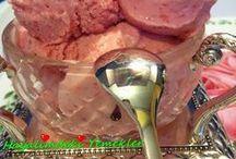 Dondurma yapımı