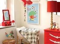 Cameretta Rossa / Cameretta per bambini colore rosso