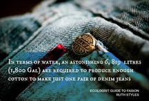 Eco Friendly Quotes / Inspirational quotes to support sustainable fashion. / by Robyn Gibbes