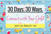 Connecting with Your Child / Join Finlee and Me as we share 30 Ways to Connect with your Child. Featuring easy-to-do activity idea to help connect with your kids. We'll pair the idea with a fun plaything and craft activity too.  Join here http://www.finleeandme.com.au/connect-with-your-child-30-days-30-ways-to-help-create-a-strong-connection-with-your-kids/