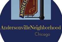 Andersonville Chicago,IL / Andersonville is on Clark Street north of Foster Avenue. It's an old Swedish neighborhood that was first settled in the mid- 19th century. Chicago,IL #Andersonville