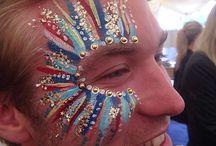 festival facepaint