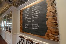 menu /sign board