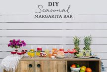 backyard summer party / ideas & inspiration for all of your backyard summer parties & backyard summer bbqs this summer!  backyard parties are quintessentially summer in my book.  get the grill roaring, have a pitcher cocktail & a good playlist ready, & have some fun playing yard games with your friends & family.  follow along for backyard party food, backyard party recipes, backyard party drinks, backyard party ideas, & more!