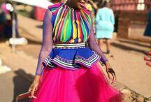 Pedi traditional dressess