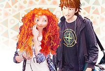 mericup / merida and hiccup