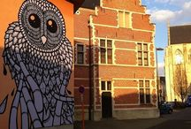Visit Mechelen & enjoy street artist Gijs Vanhee's work / Ten artists unleashed their creative talent on just as many walls in the city, with pencils, paint and spray cans. Thanks to them, a narrow, non-descript street has suddenly been transformed into a street that you actually want to walk through.