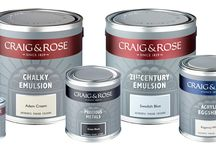 Our Heritage/Our pictures/What inspires us / A collection of our lovely tins dating back 80 years , some great interiors that we love and of course GREAT colours....