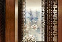 Architectural Screen Door Detail