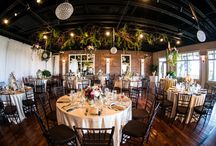 VENUES : White Room St Augustine / One of St Augustine's most popular venues lends itself perfectly to weddings of all sizes and styles. The ceiling looks especially beautiful draped with floral and the rooftop is the ideal location for a ceremony with a view! http://www.whiteroomweddings.com/