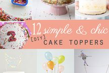 DIY | Cake Toppers