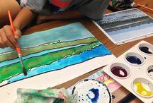 Teaching Artist: Bay Area landscapes