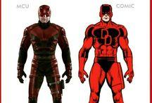 Comic Comparison - Marvel
