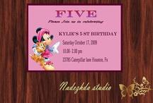 Invitation to a birthday