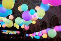 Balloonsanity / Mood board for Balloon lighting project